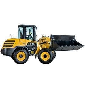 wheel loader bucket capacity